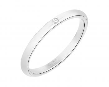 #Stainless Steel Ring with Cubic Zirconia