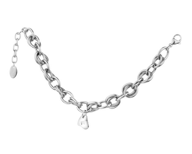 Stainless Steel Bracelet - Heart