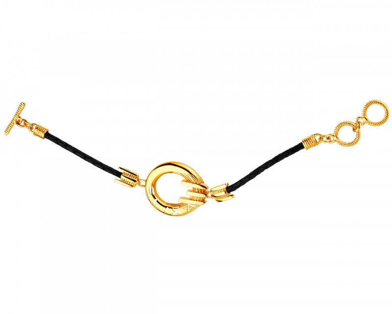 Gold-Plated Brass Bracelet