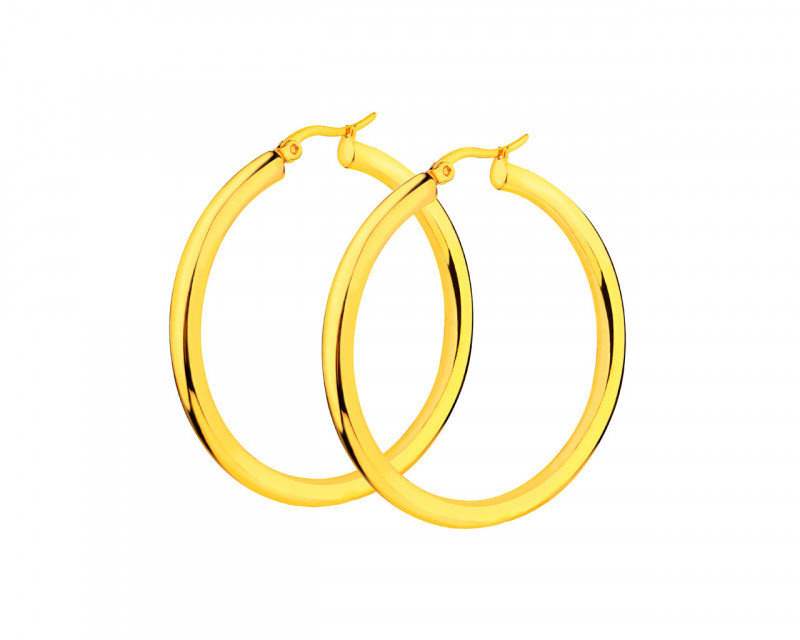 Stainless Steel Earrings - Hoop